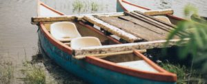 A rowboat for multiple people